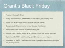 Grant's Black Friday