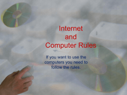 Internet and Computer Rules