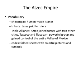 The Atzec Empire