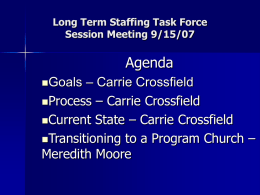 Long Term Staffing Proposal