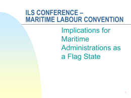 Legal Issues and Mandates in Maritime Administration