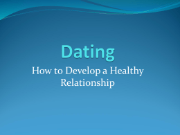 Dating - TypePad