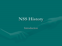NSS History - Sacred Heart Canossian College