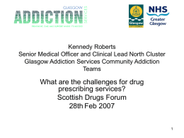 Glasgow Addiction Services