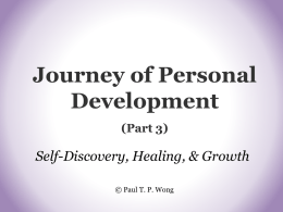 Journey of Personal Development (Part 3)