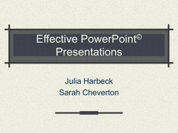 Active Learning through PowerPoint