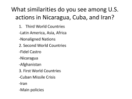 What similarities do you see among U.S. actions in
