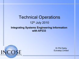 Presentation Title - Object Management Group Portals