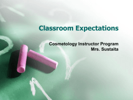 Classroom Expectations - Houston Community College System