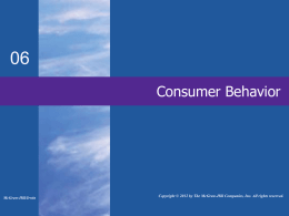 Consumer Behavior - Mount Saint Mary College
