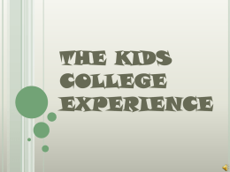 Kids College 2007 - Seward County Community College