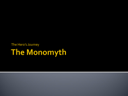 Archetypes and the Monomyth