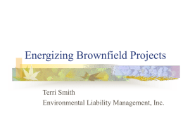 Energizing Brownfield Projects