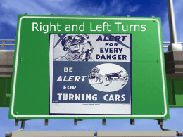 Right and Left Turns - Broward County Public Schools
