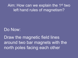 Aim: How can we explain magnetism?