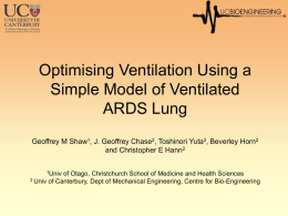 Optimization of Ventilator Treatment Using Model of Lung