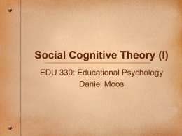 Introduction to Educational Psychology: Developing a