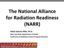 Radiation Preparedness Regional Partnerships