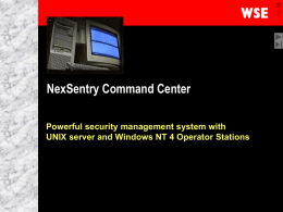 NSCC - Home - Honeywell Integrated Security