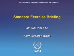 Module VII2 Development, Conduct and Evaluation of an
