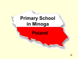 Elementary School in Minoga