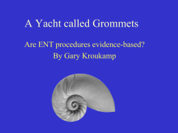 A Yacht called Grommets