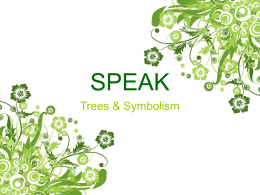 SPEAK - Mrs. Pilgreen's English I Website