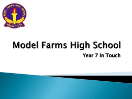Model Farms High School