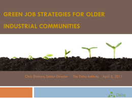 Growing the Green Economy - Brownfields Conference 2015