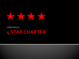 4 STAR CHAPTER