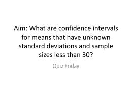 lesson30-confidence interval