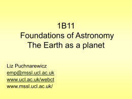 1B11 Foundations of Astronomy Star names and magnitudes
