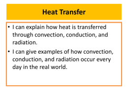 3 ways that heat can be transferred