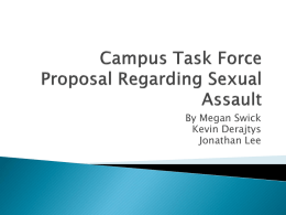 Changing Myths of Sexual Misconduct to Facts