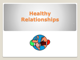 The ABC's of Healthy Relationships