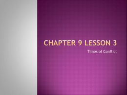 Chapter 9 Lesson 3 - North Plainfield School District