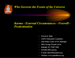 Who Governs the Events of the Universe