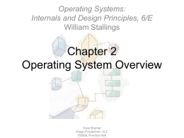 Chapter 2Operating System Overview