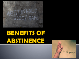 ABSTINENCE - Austin Independent School District