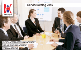 Download Servicekatalog 2015 - BOC Group