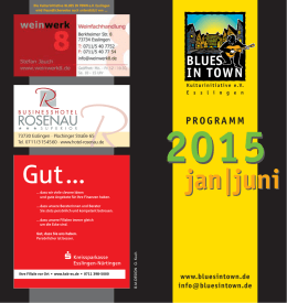 2015 - Blues in Town