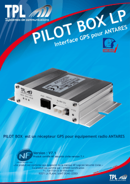 Interface GPS pour ANTARES