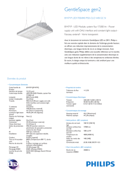 Product Leaflet: GentleSpace gen2 BY471P high-bay