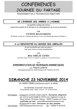 Document - Transmission Vibratoire