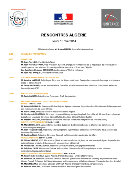 programme - UBIFRANCE Events