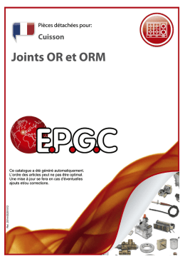 Joints OR et ORM