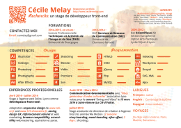 See my CV - Cécile Melay Ce sketch Book, portfolio