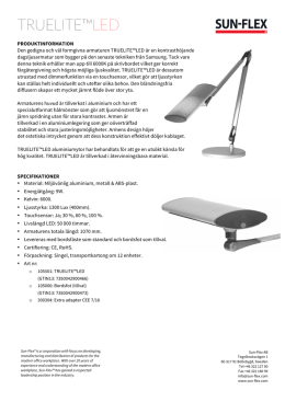 TRUELITE LED_SV - Sun-Flex