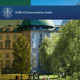 Profile & Communications Guide - Home