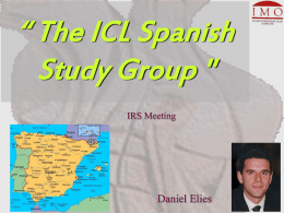 The ICL Spanish Study Group - Punto de Encuentro Oftalmológico